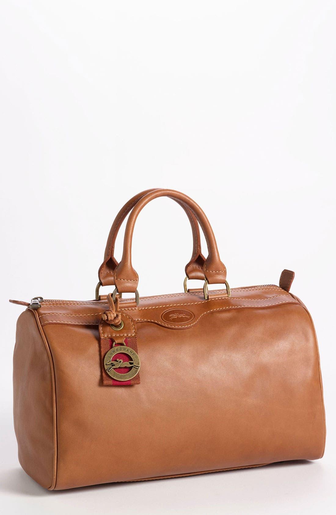 Main Image - Longchamp 'Au Sultan' Leather Satchel