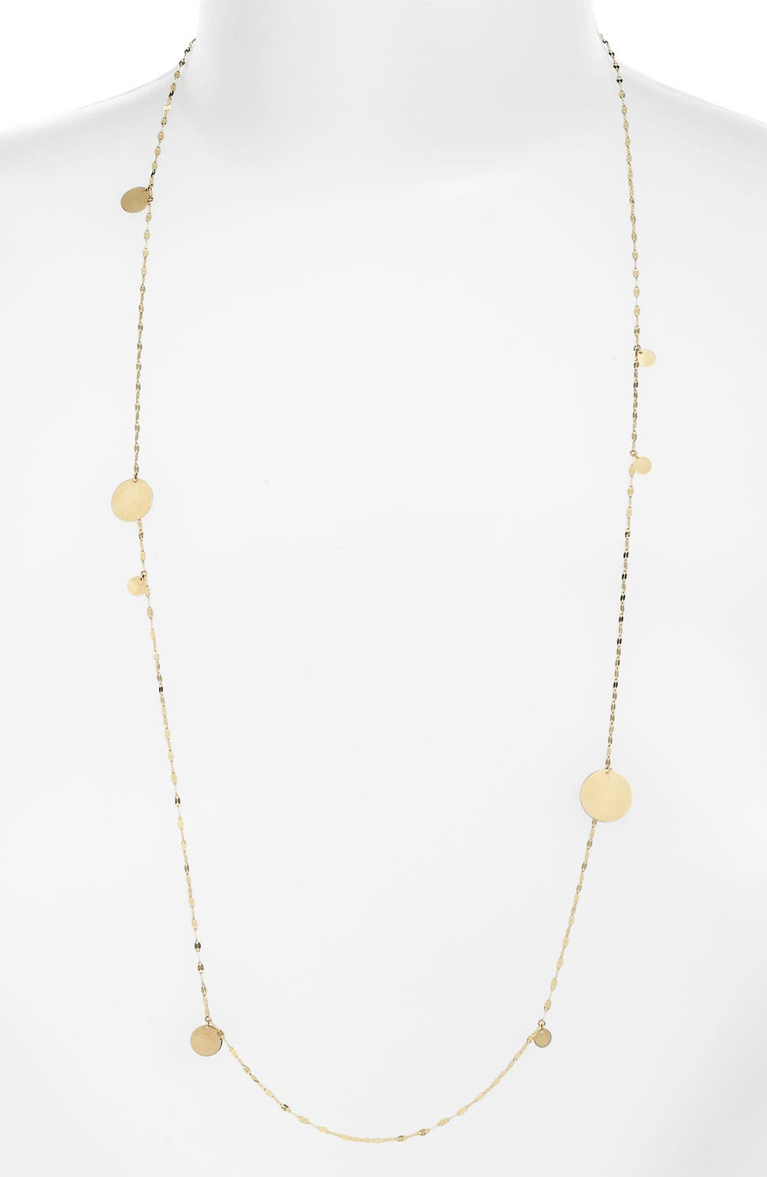 Alternate Image 1 Selected - Lana Jewelry 'Gypsy' Long Disc Necklace