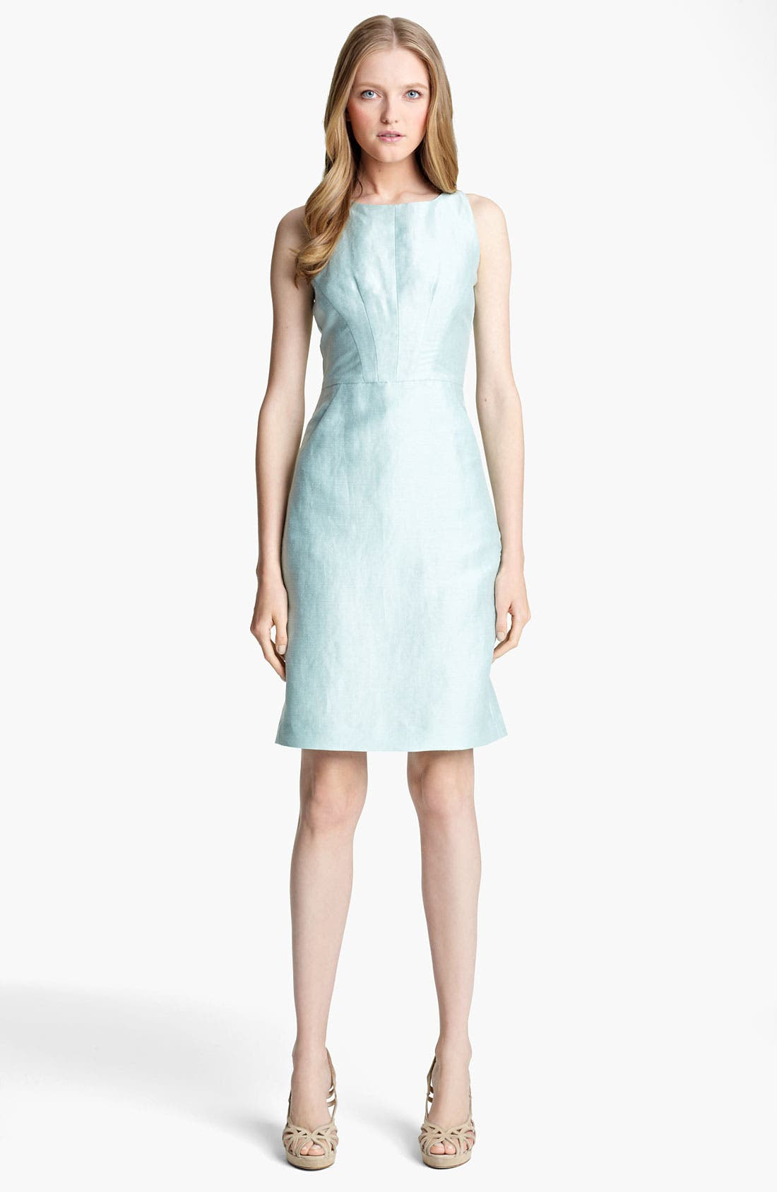Alternate Image 1 Selected - Armani Collezioni Shantung Dress