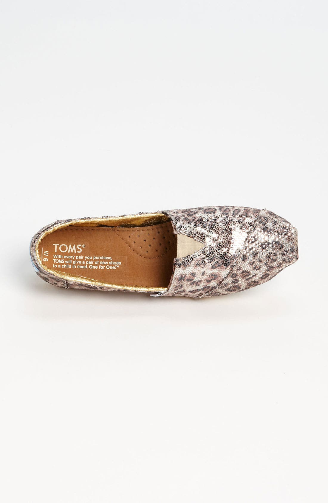 Alternate Image 3  - TOMS+ 'Classic - Gold' Slip-On (Women)