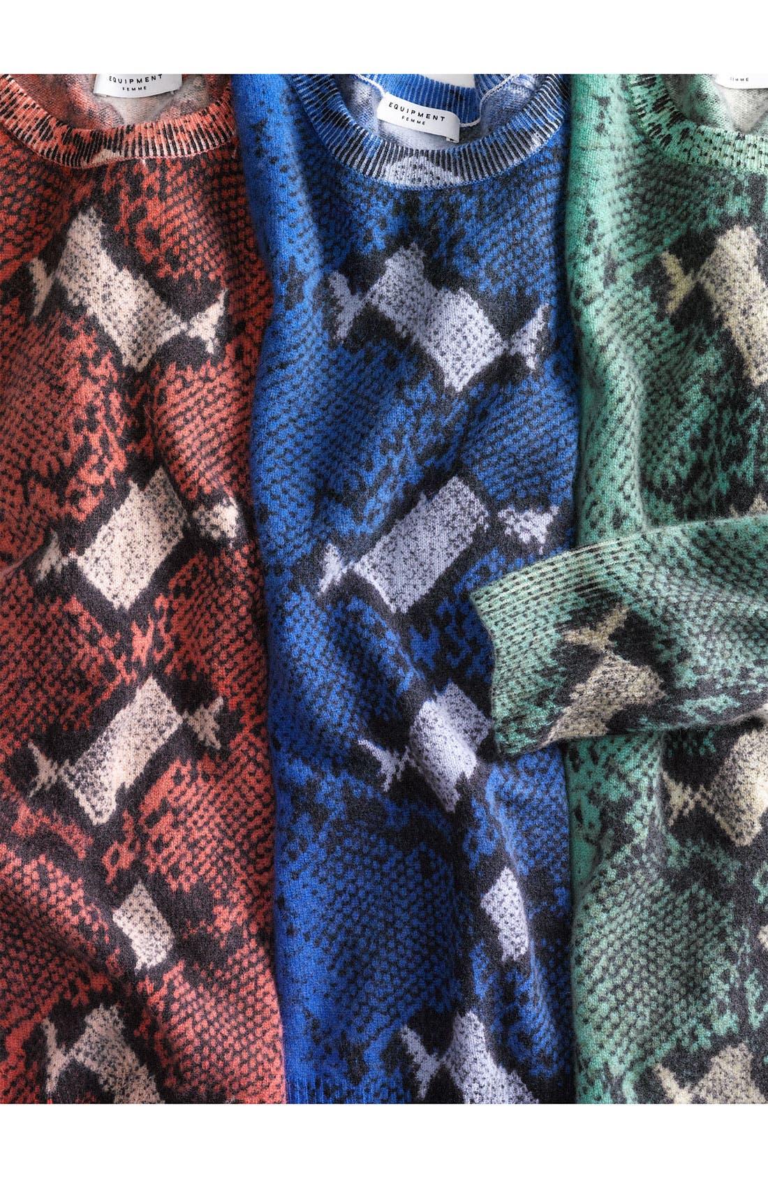 Alternate Image 4  - Equipment 'Sloan' Crewneck Cashmere Sweater