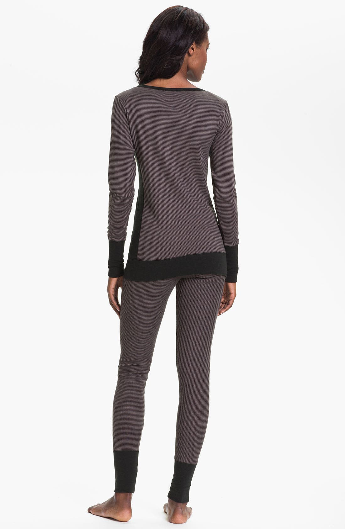Alternate Image 5  - DKNY Base Layer Cuff Leggings