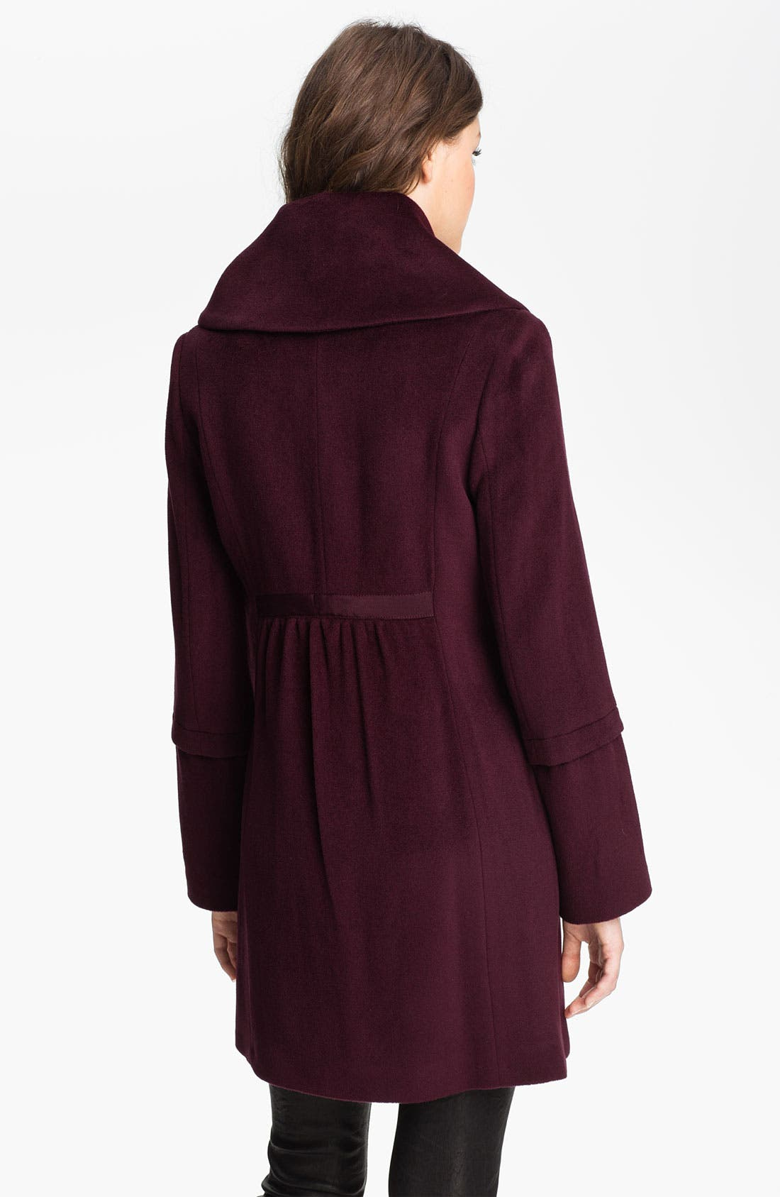 Alternate Image 2  - Tahari 'Roxy' Envelope Collar Coat