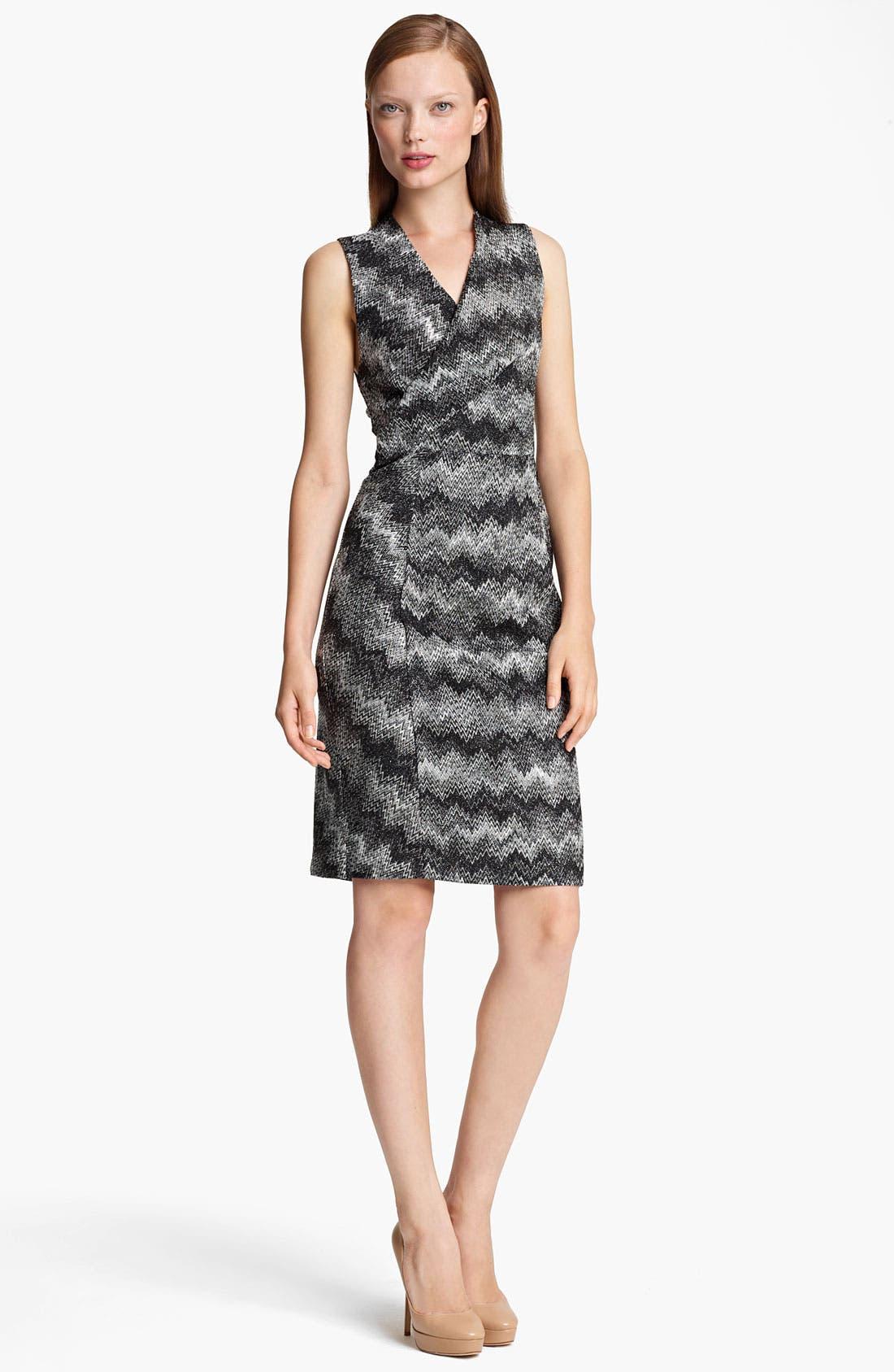 Main Image - Missoni Snake Stitch Faux Wrap Dress
