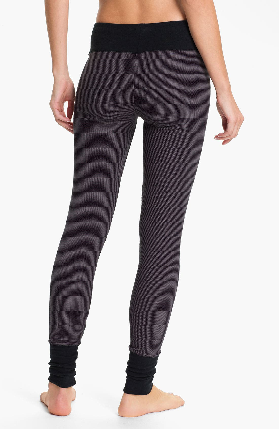 Alternate Image 2  - DKNY Base Layer Cuff Leggings