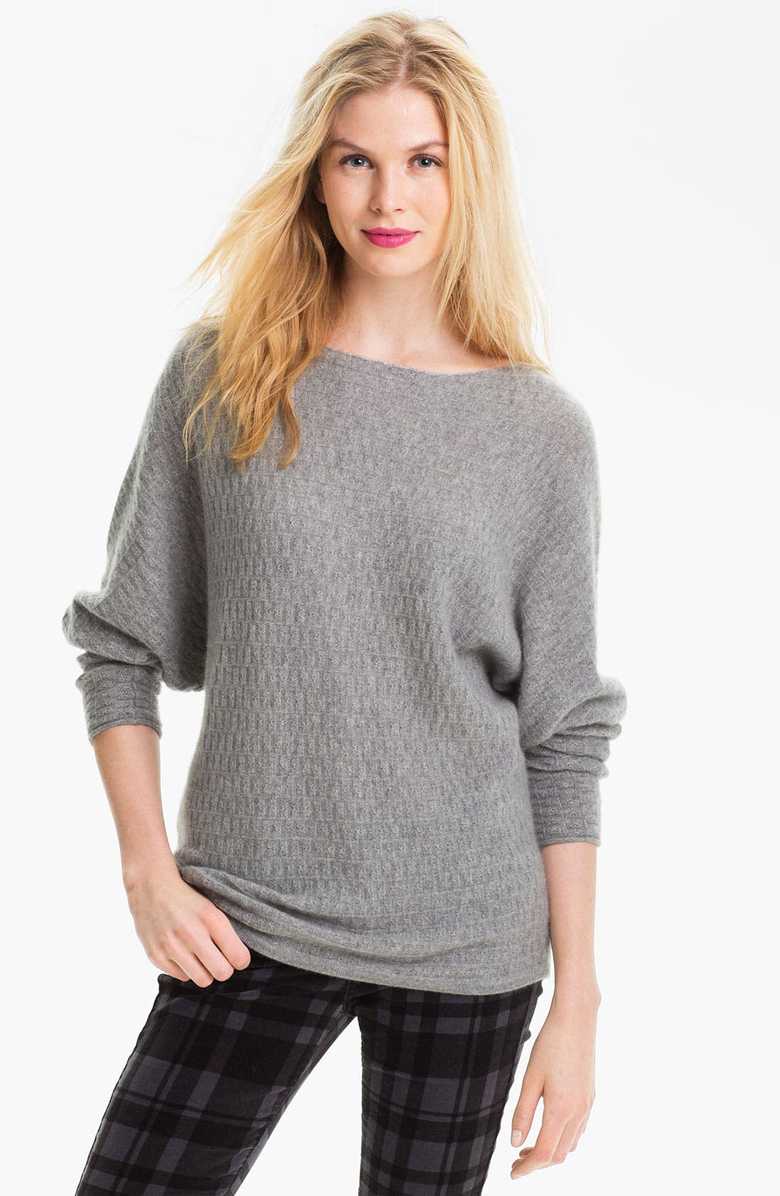 Main Image - Only Mine Textured Dolman Sweater