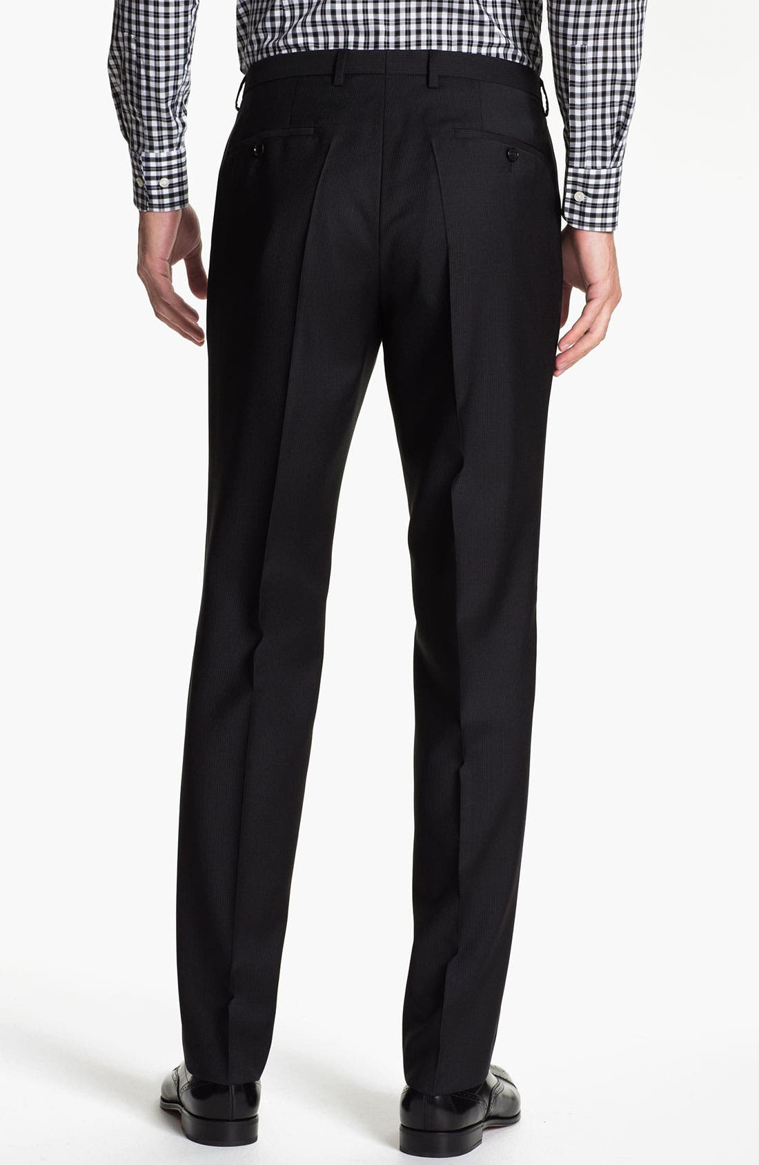Alternate Image 5  - BOSS Black 'Jam/Sharp' Trim Fit Stripe Suit