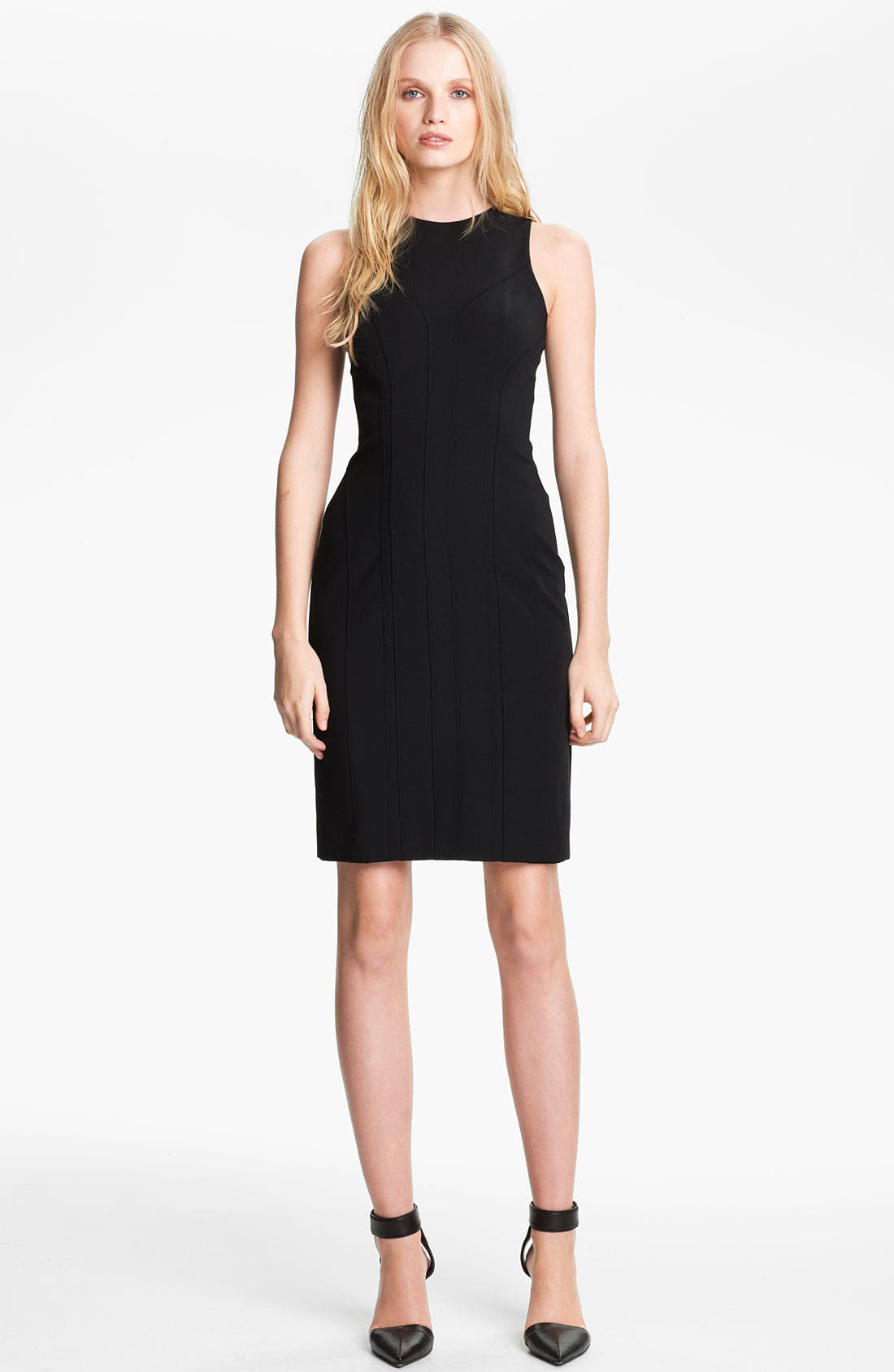Alternate Image 1 Selected - Alexander Wang Sleeveless Fitted Dress
