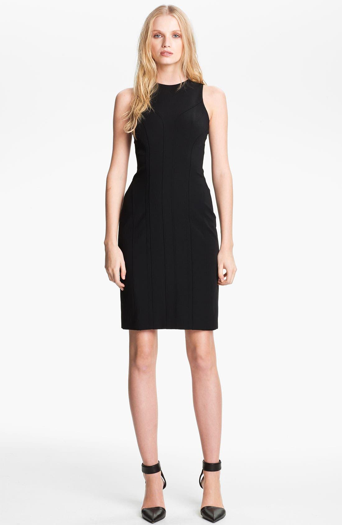 Main Image - Alexander Wang Sleeveless Fitted Dress