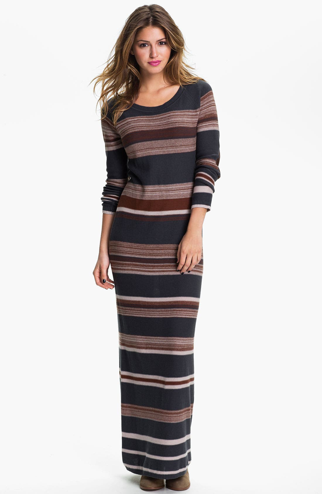 Main Image - Rubbish® Sweater Maxi Dress (Juniors)