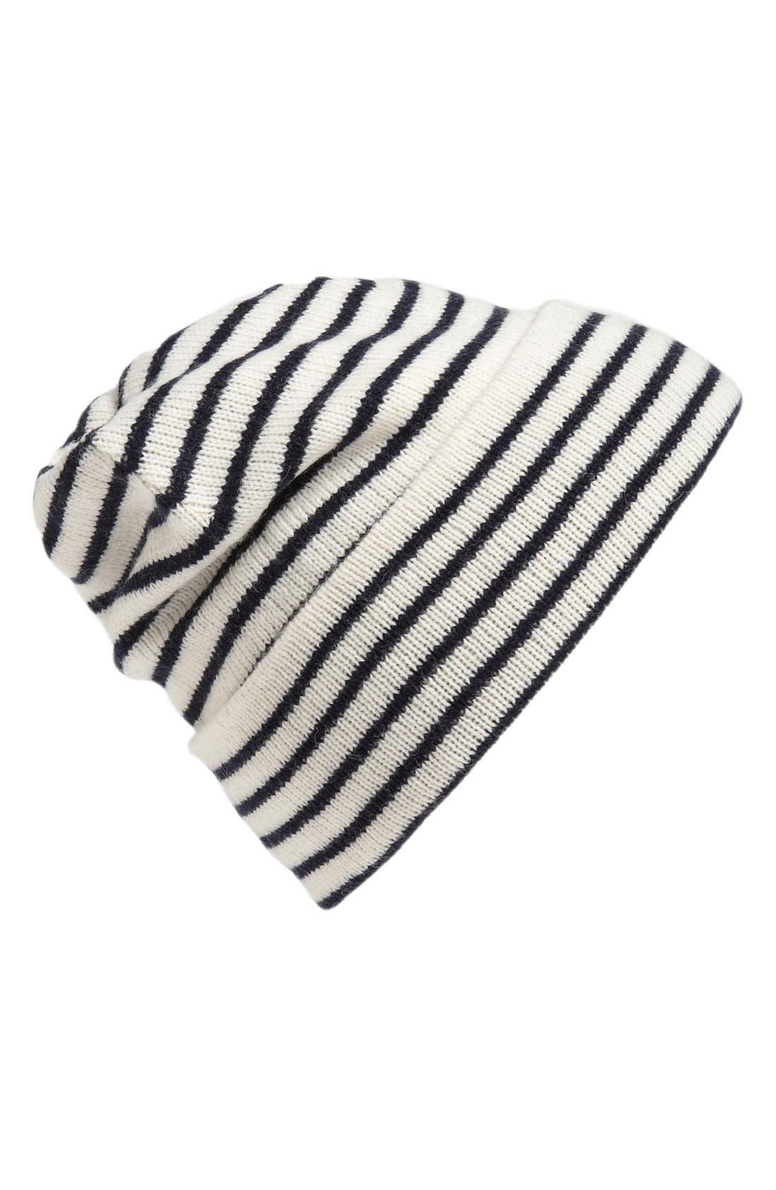 Alternate Image 1 Selected - Jack Spade 'Cooper' Stripe Hat