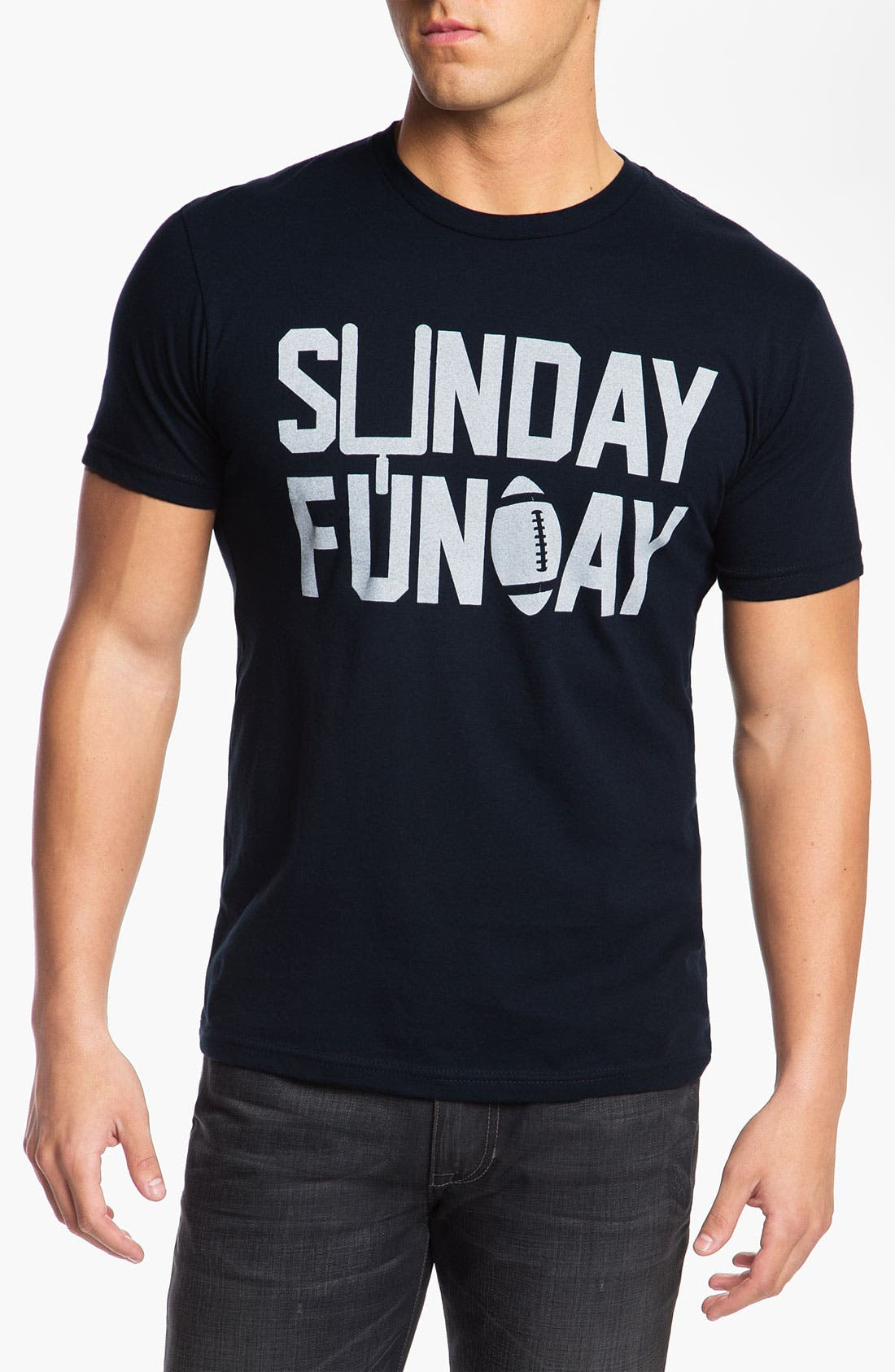 Main Image - Kid Dangerous 'Sunday Funday Football' Graphic T-Shirt (Online Only)