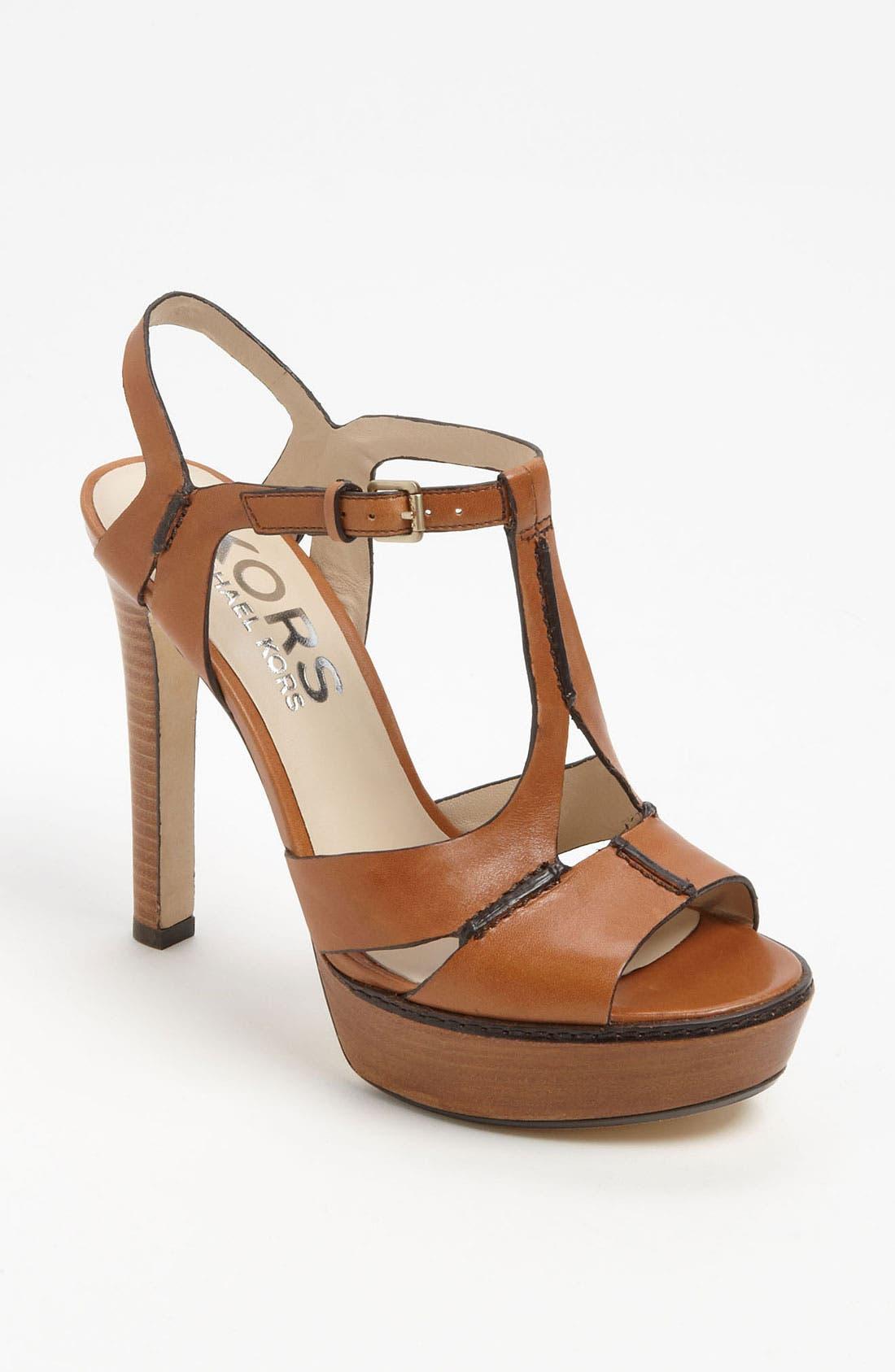 Alternate Image 1 Selected - KORS Michael Kors 'Brookton' Sandal
