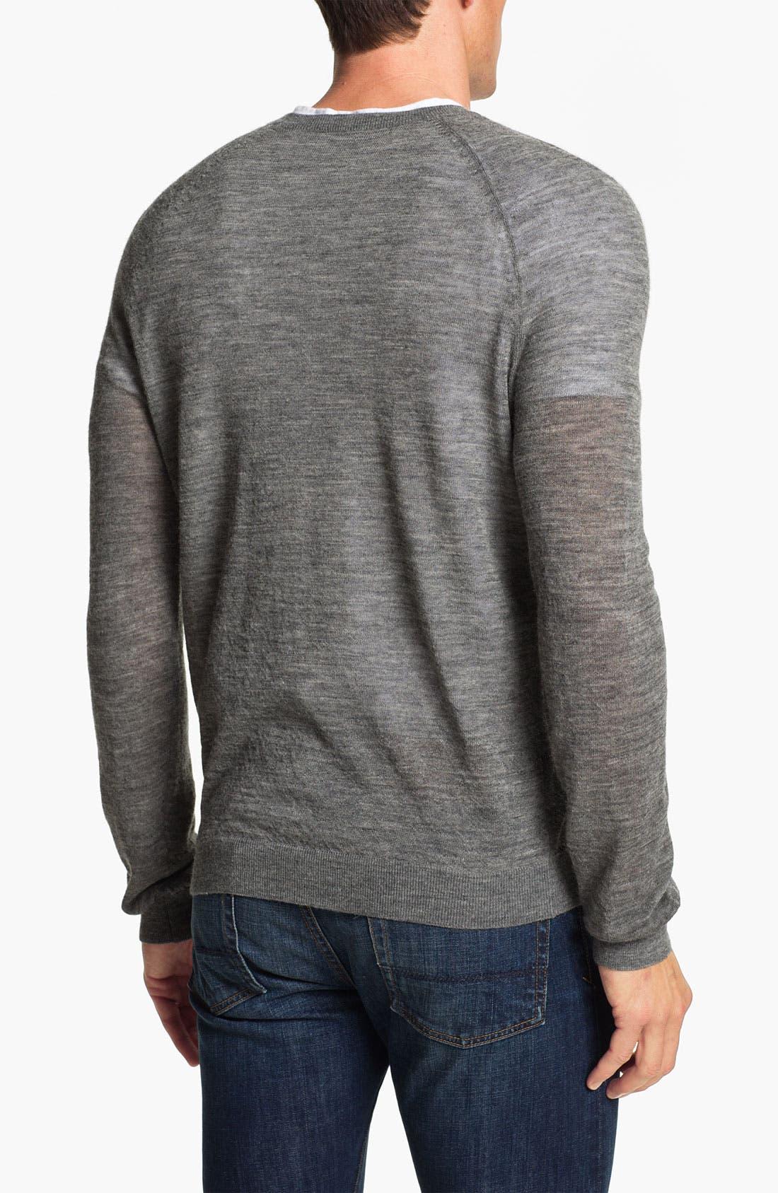 Alternate Image 2  - Vince Alpaca Blend Crewneck Sweater