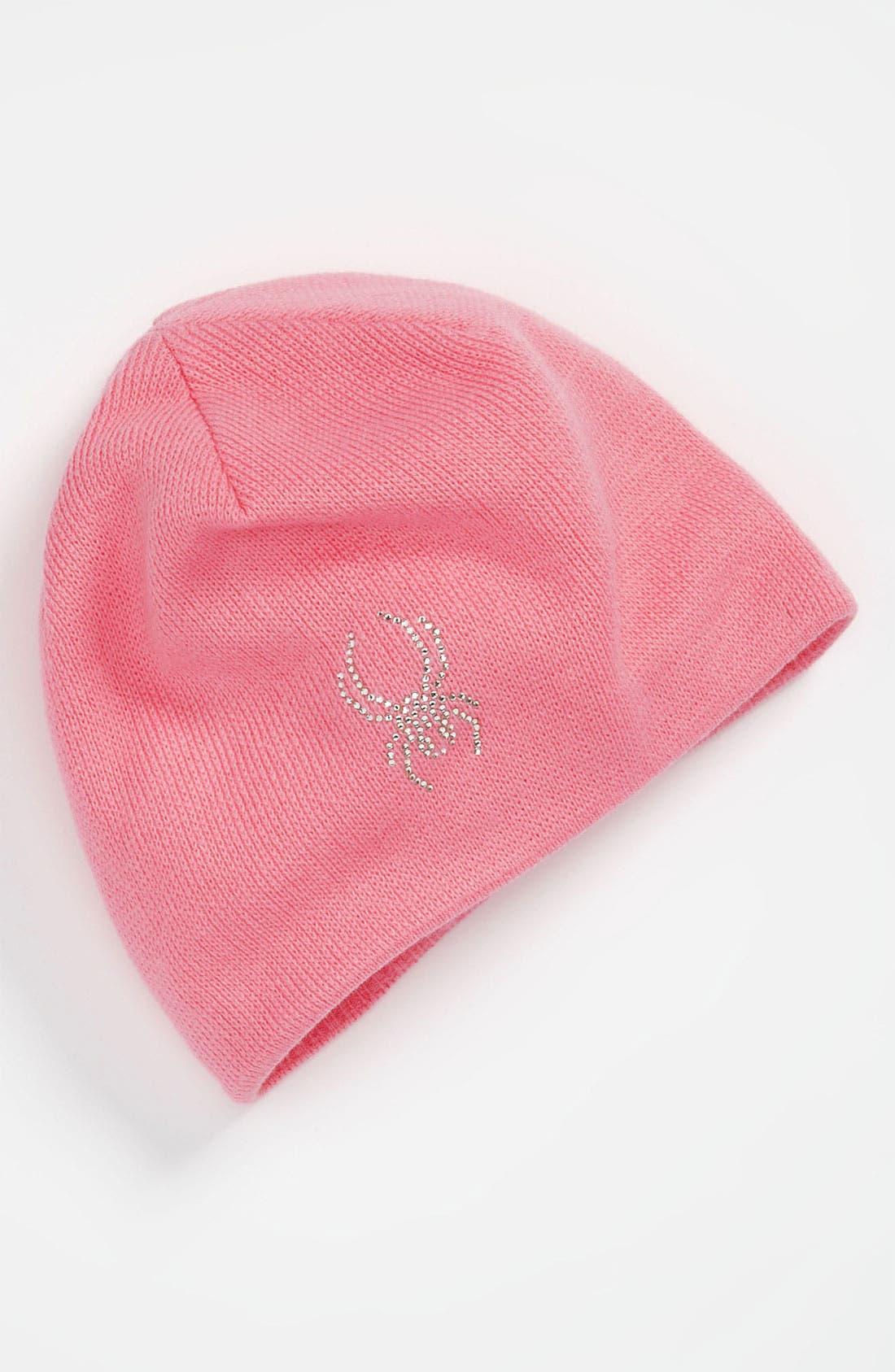 Alternate Image 1 Selected - Spyder 'Bitsy' Rhinestone Hat (Little Girls)