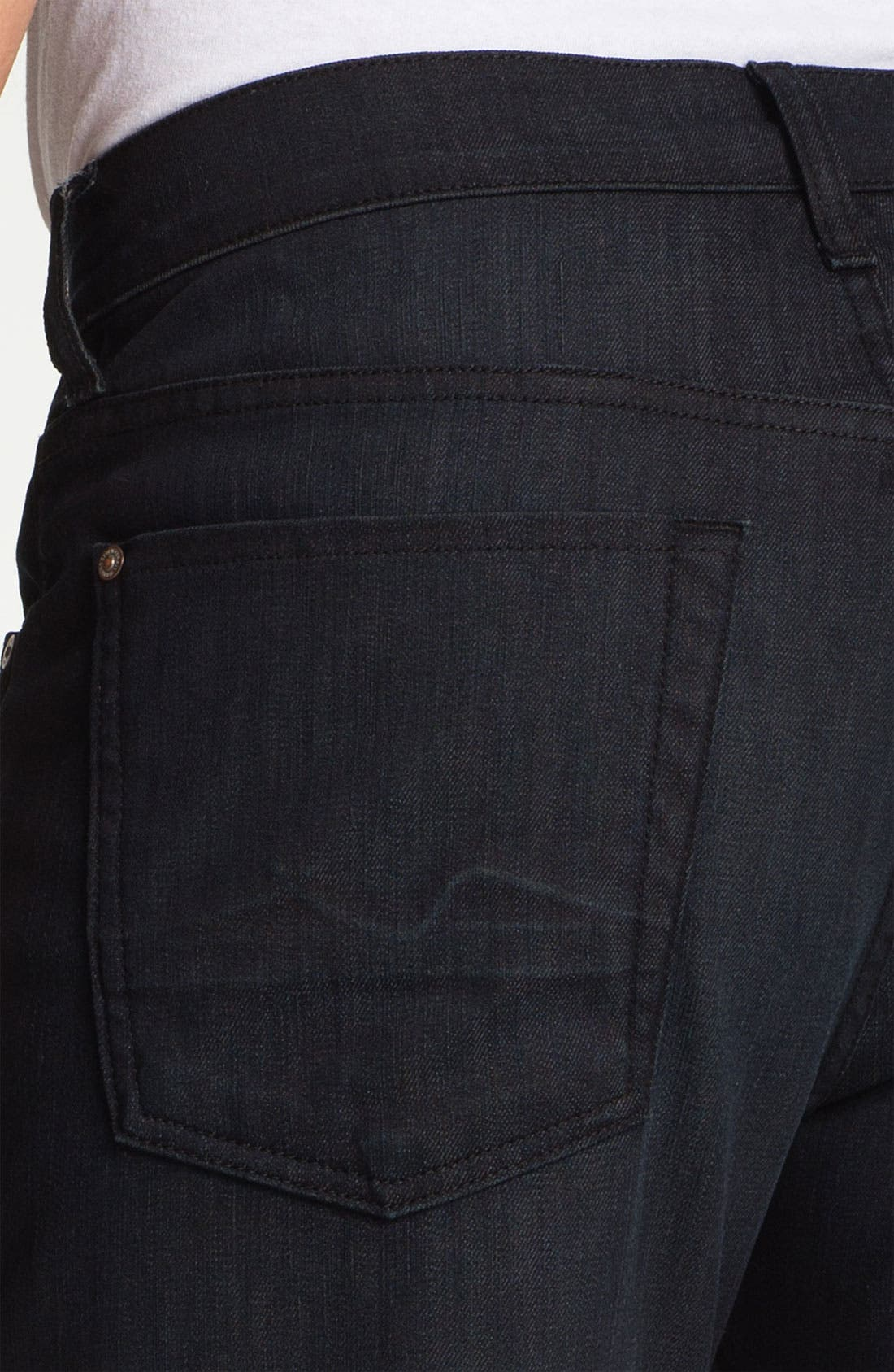Alternate Image 4  - 7 For All Mankind® 'Austyn' Relaxed Fit Jeans (Baileyville)