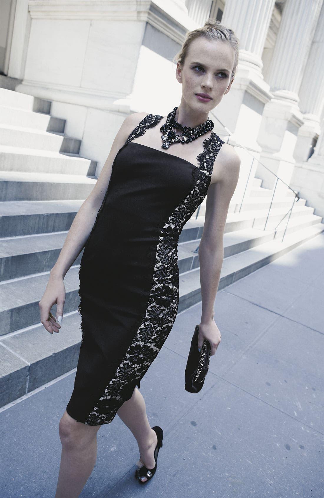 Alternate Image 4  - Nordstrom 'Dark Glamour' Frontal Necklace