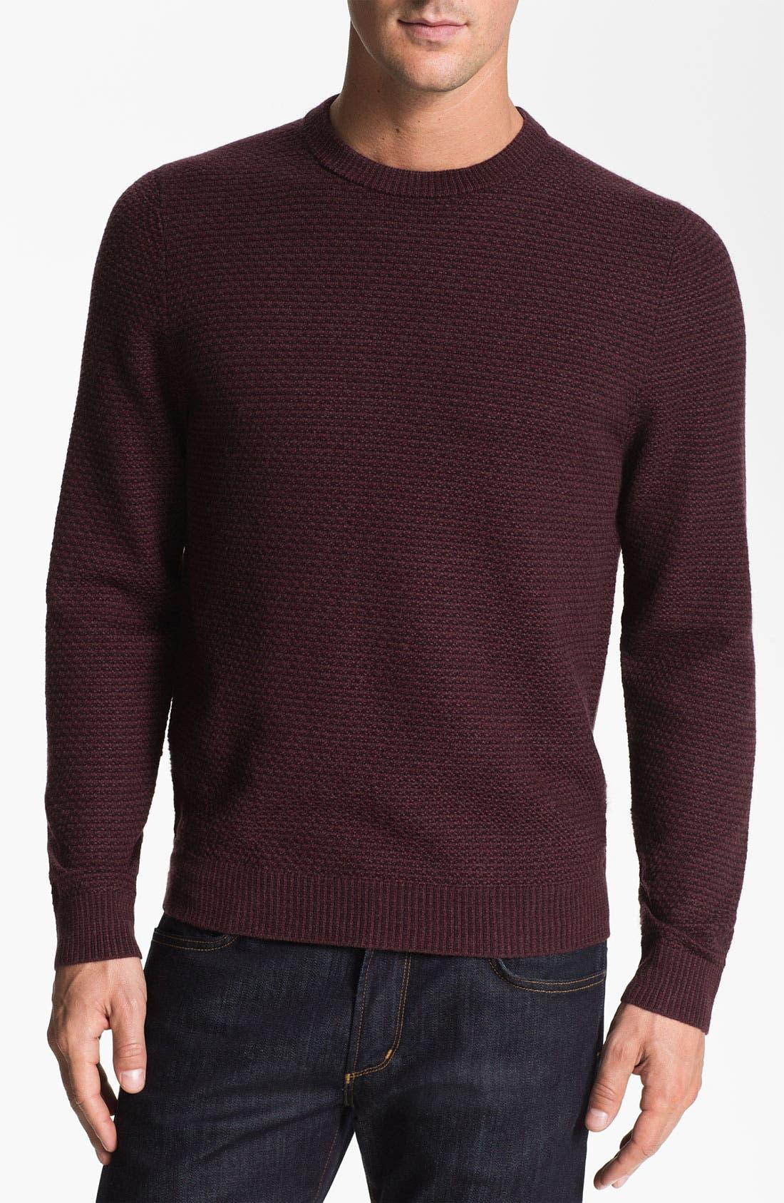 Alternate Image 1 Selected - Nordstrom Merino Wool Crewneck Sweater