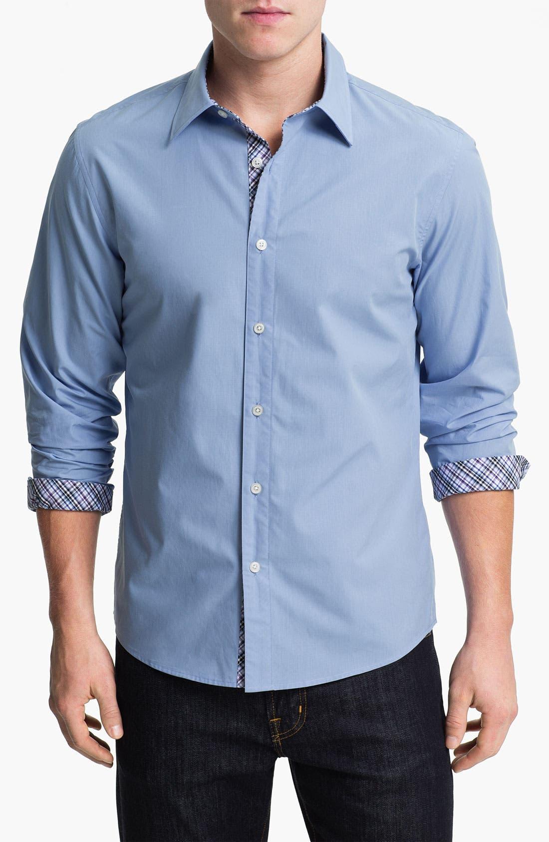 Main Image - Michael Kors Poplin Sport Shirt