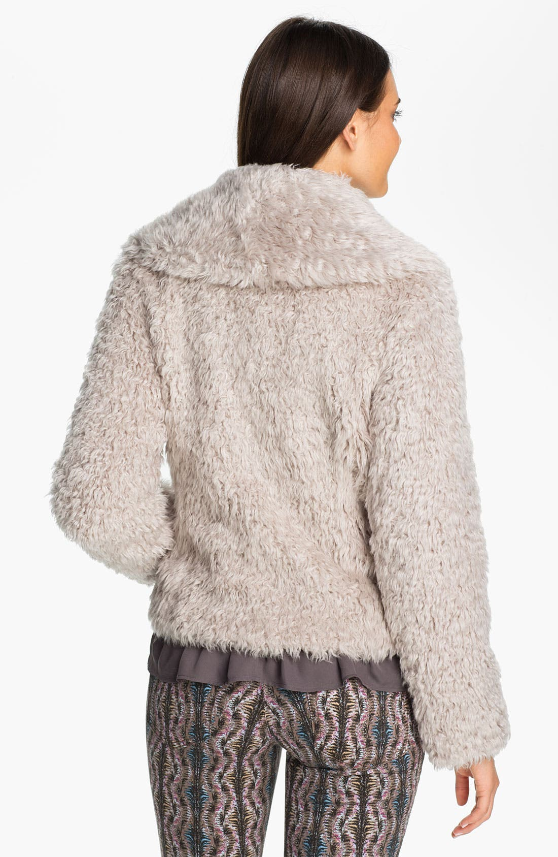 Alternate Image 2  - Laundry by Shelli Segal 'Oslo' Faux Fur Jacket