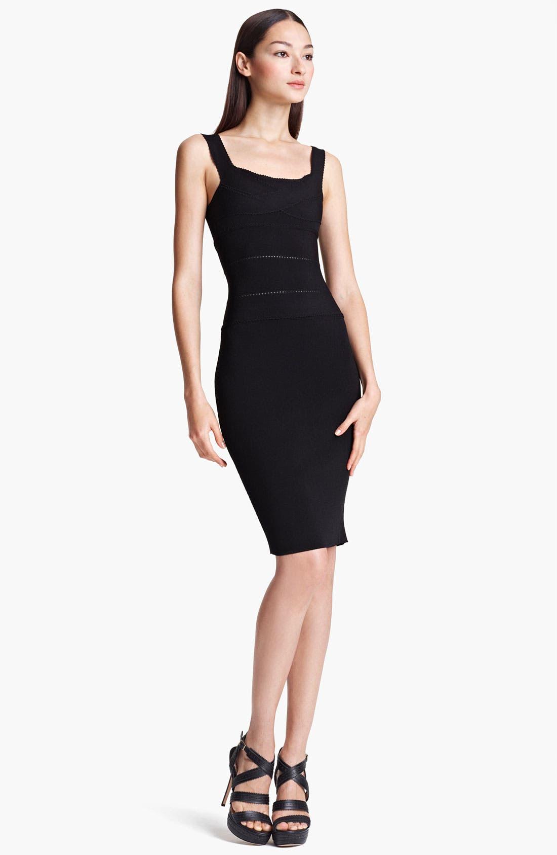 Main Image - Blumarine Banded Jersey Dress