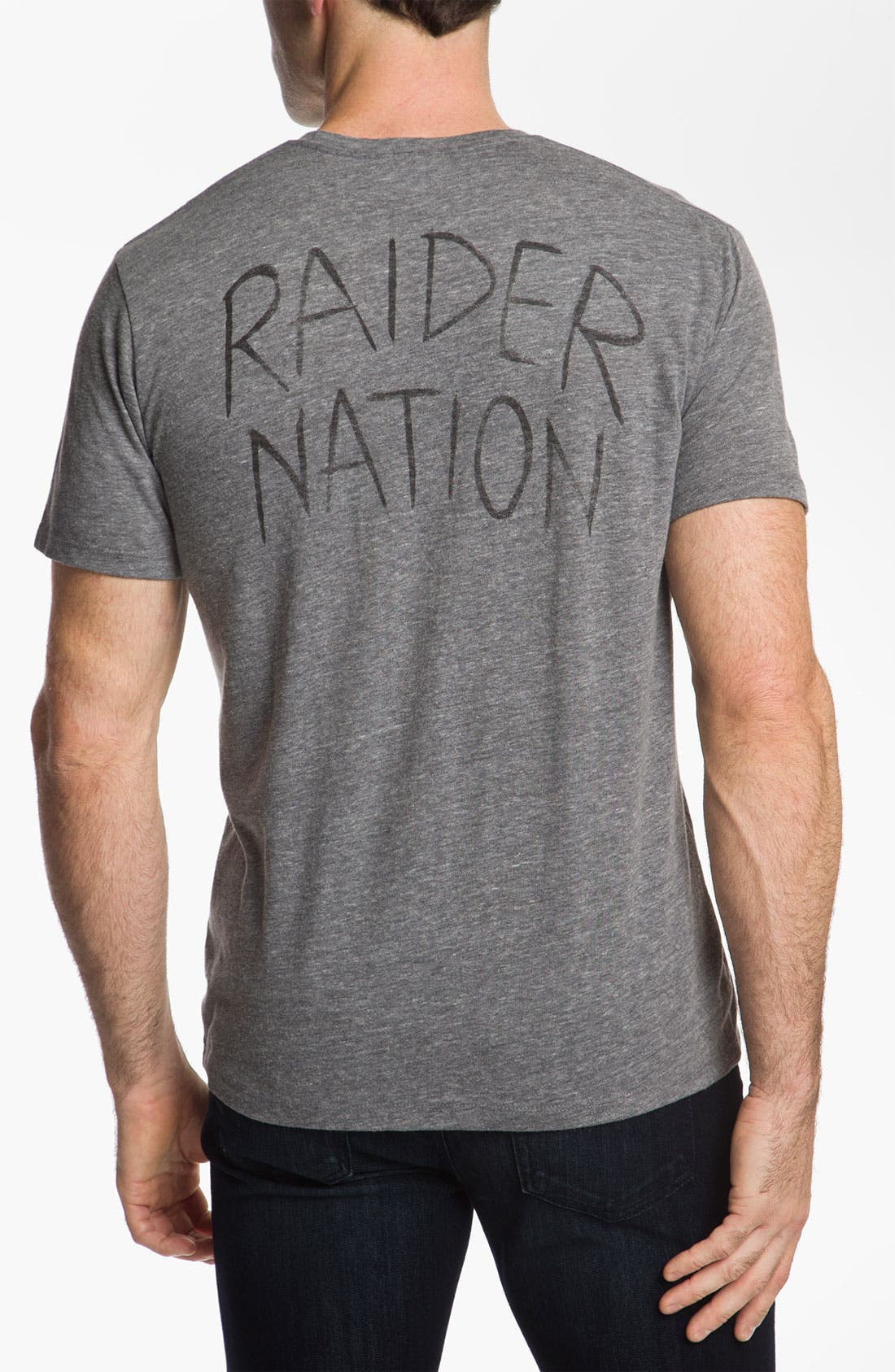 Alternate Image 2  - Junk Food 'Oakland Raiders' T-Shirt