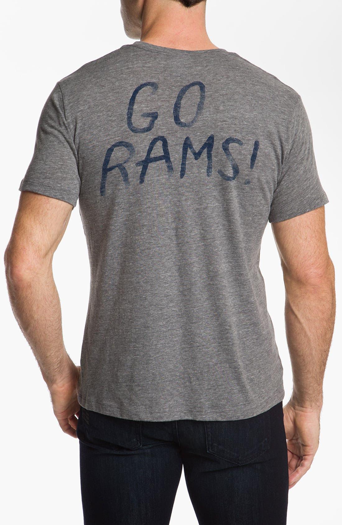 Alternate Image 2  - Junk Food 'St. Louis Rams' T-Shirt