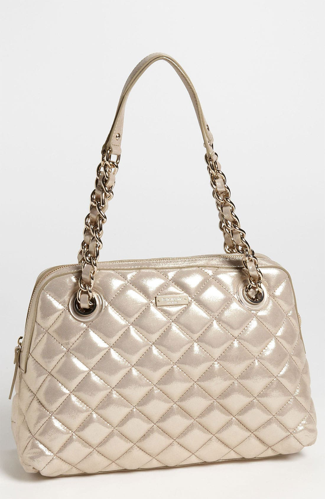 Main Image - kate spade new york 'gold coast - georgina' quilted shopper, large