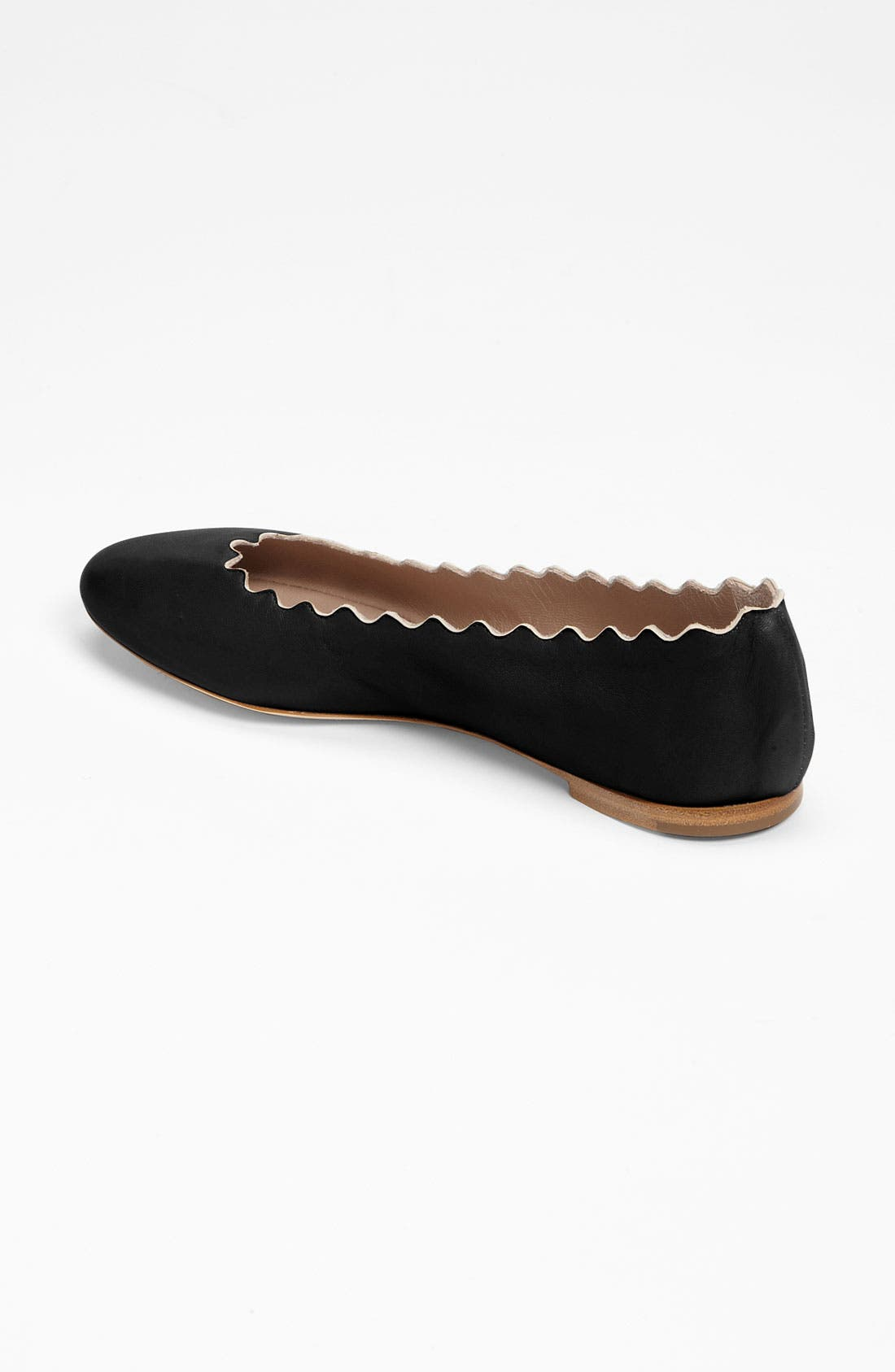 Alternate Image 2  - Chloé Scalloped Ballet Flat