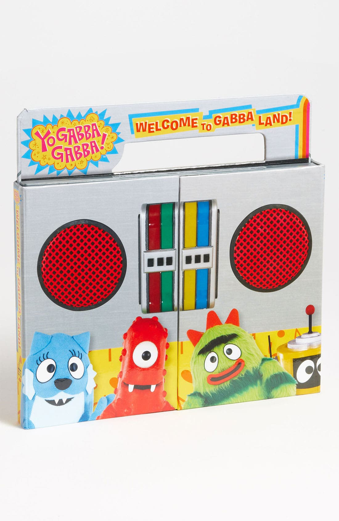 Alternate Image 1 Selected - Irene Kilpatrick 'Yo Gabba Gabba!™ - Welcome To Gabba™ Land' Book