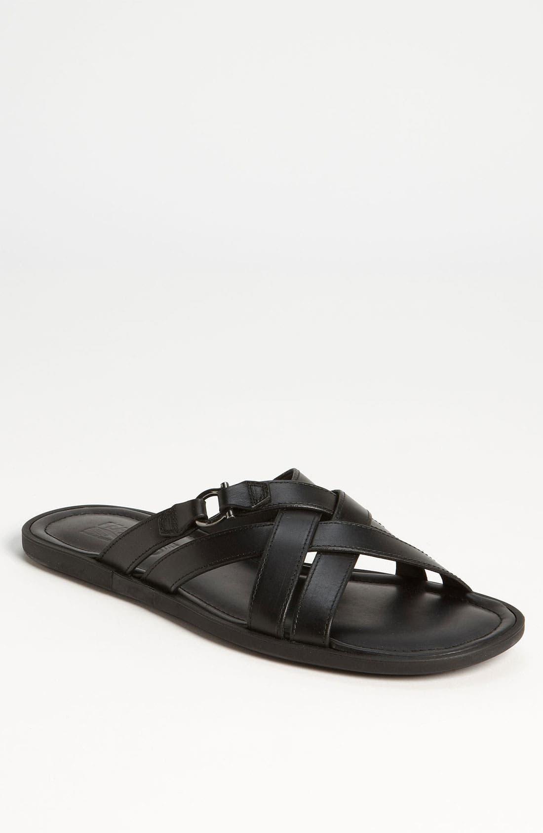 Alternate Image 1 Selected - Salvatore Ferragamo 'Tirreno' Cross Strap Sandal