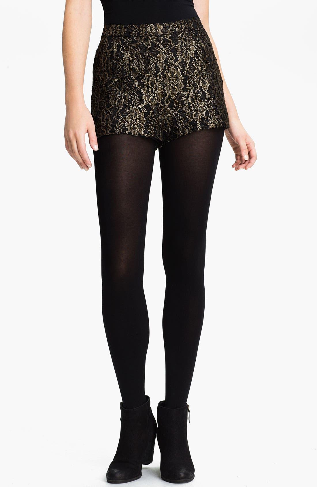Main Image - Lush Lace Shorts (Juniors)