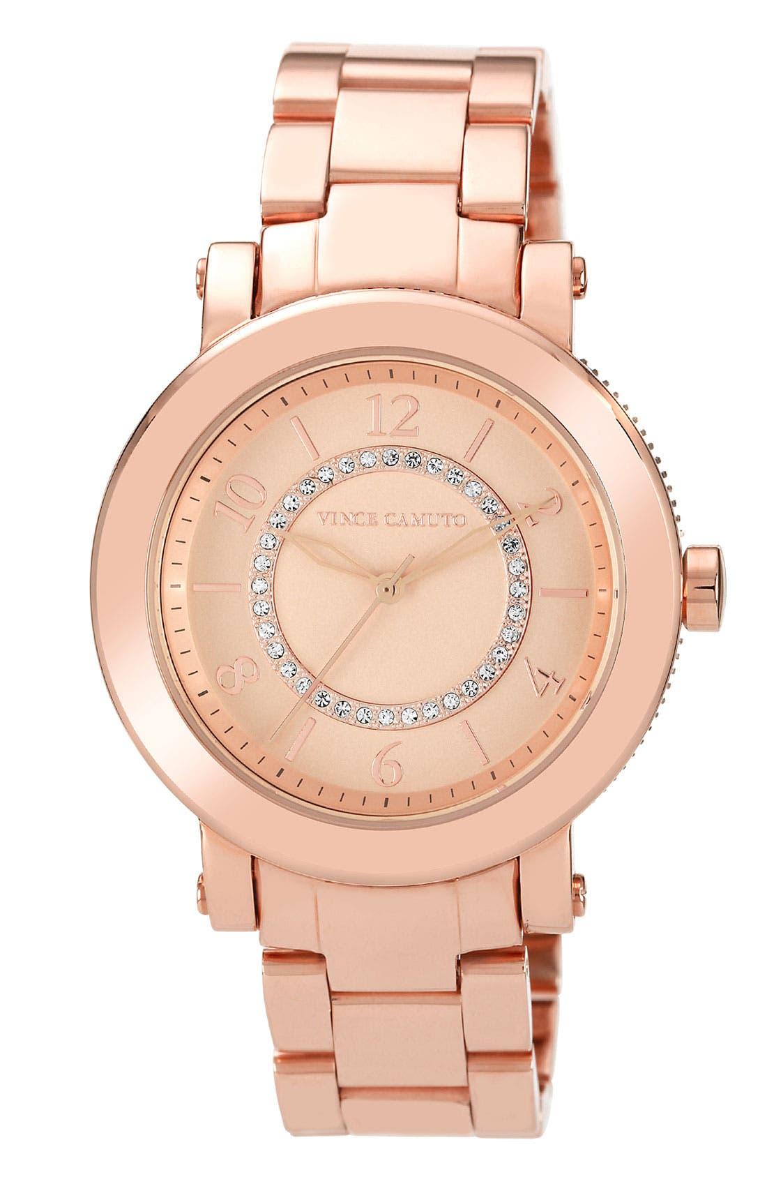Main Image - Vince Camuto Round Bracelet Watch, 40mm