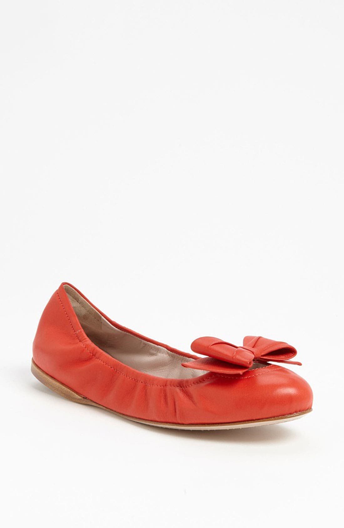 Alternate Image 1 Selected - Miu Miu Bow Ballet Flat