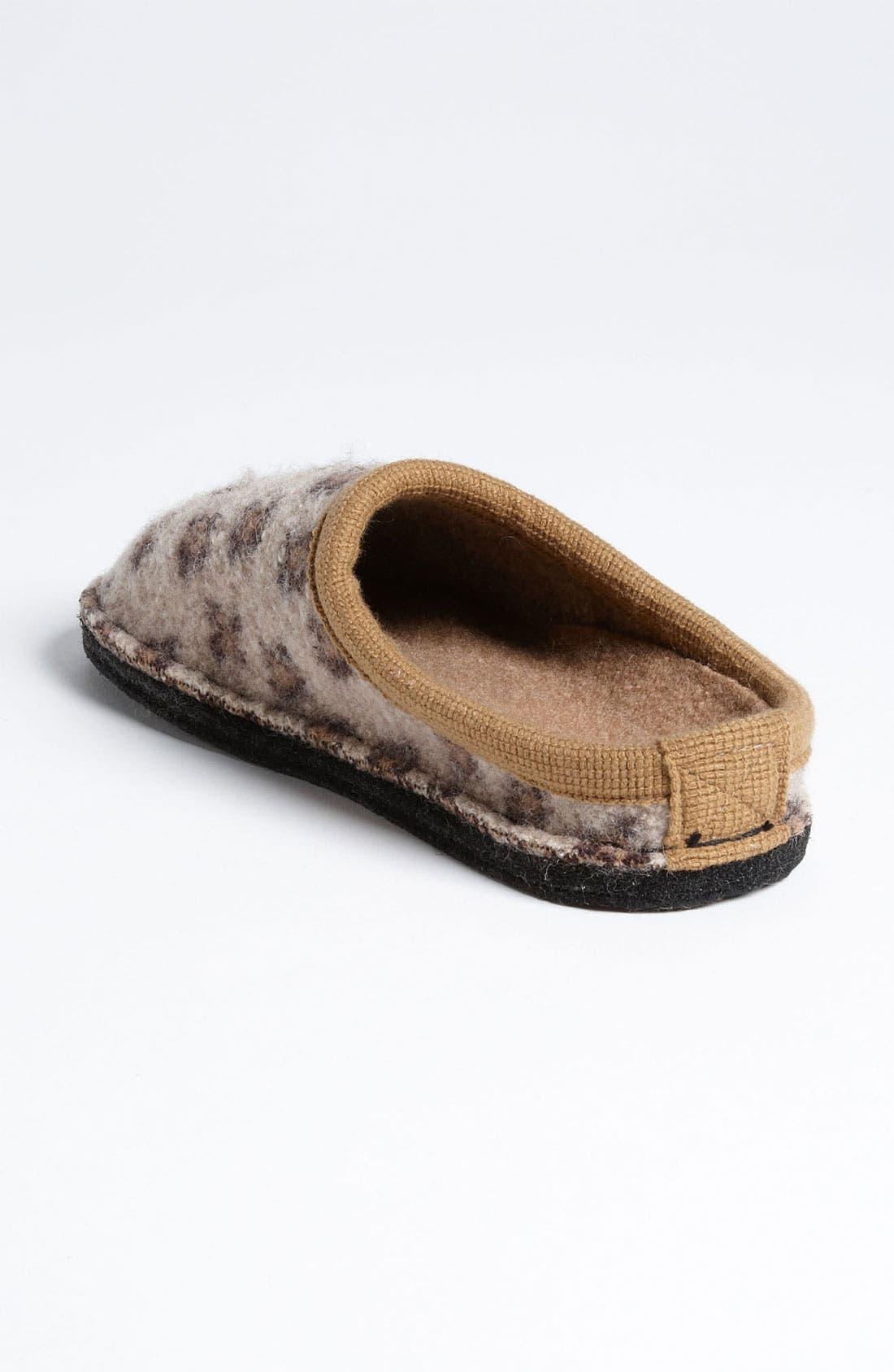 Alternate Image 2  - Haflinger 'Cheetah' Slipper