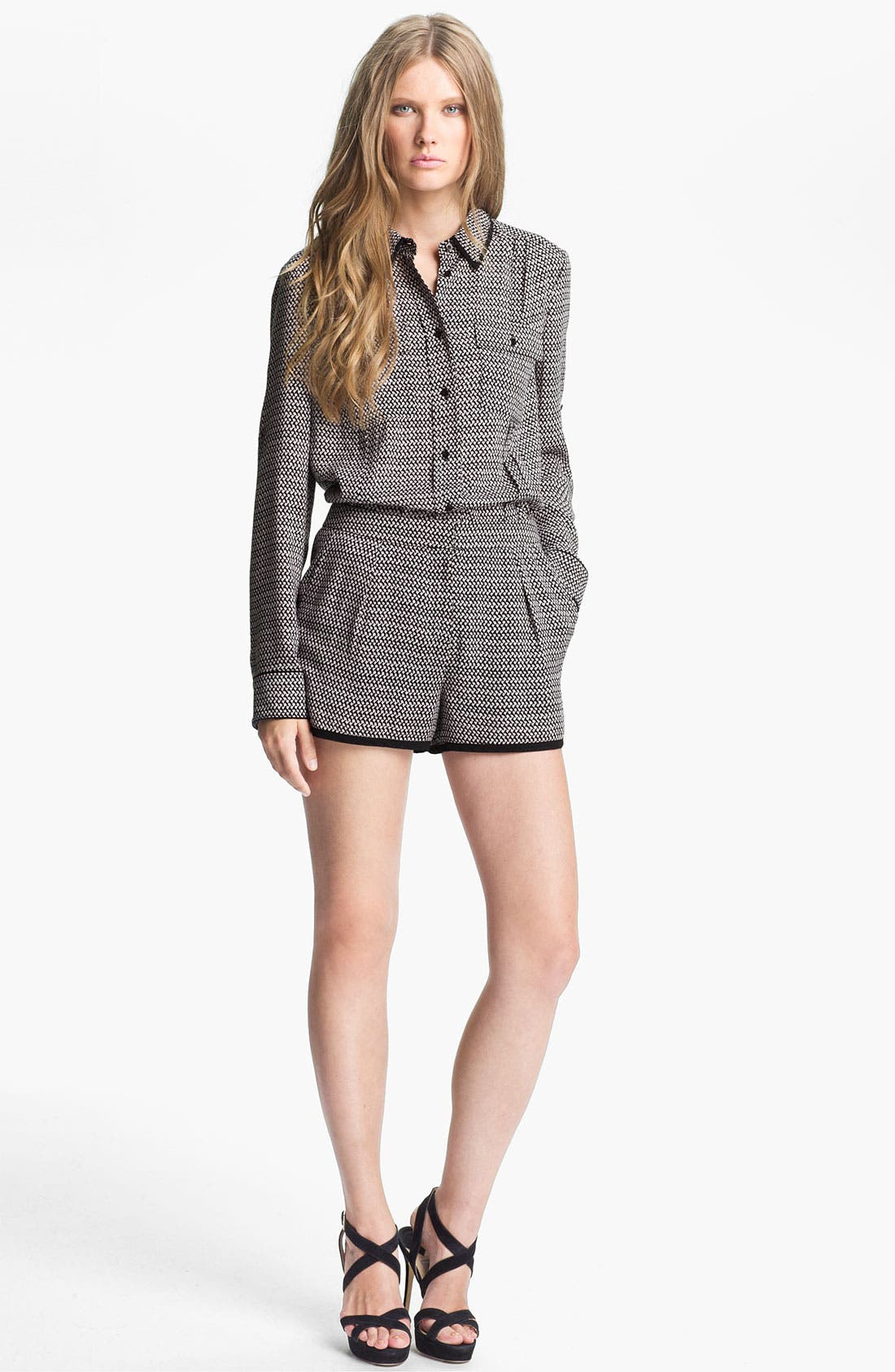 Main Image - Mcginn 'Kelly' Checkered Blouse