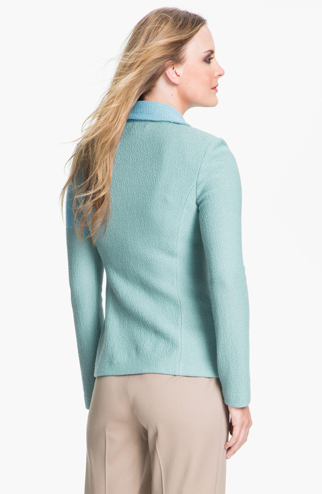 Alternate Image 3  - St. John Collection 'Parisian' Bouclé Knit Jacket