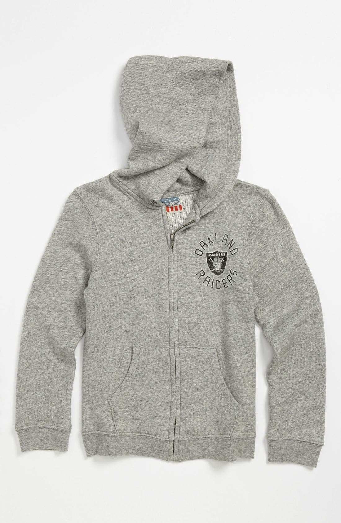 Alternate Image 2  - Junk Food 'Oakland Raiders' Hoodie (Little Boys & Big Boys)