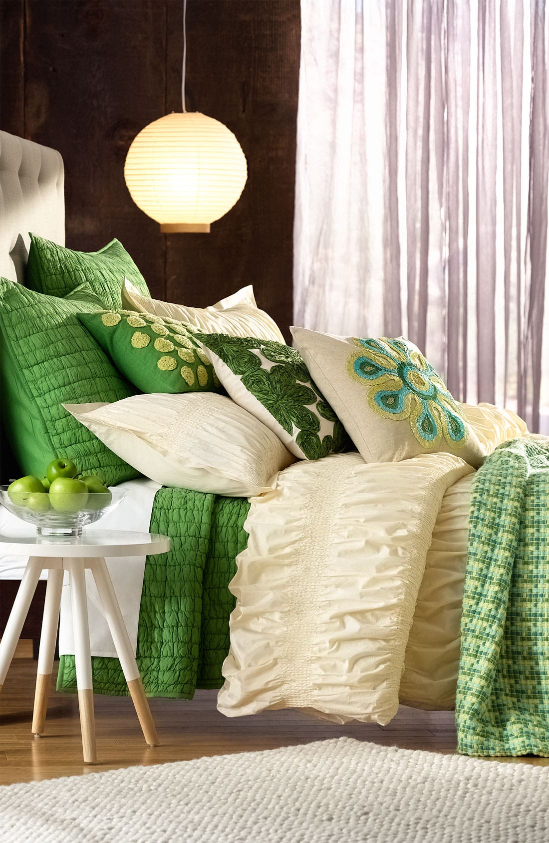 Alternate Image 2  - Nordstrom at Home Smocked Pillow Sham