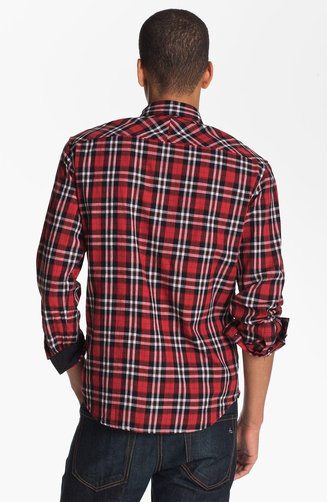 Alternate Image 2  - Rogan 'Isidoud' Reversible Check Sport Shirt