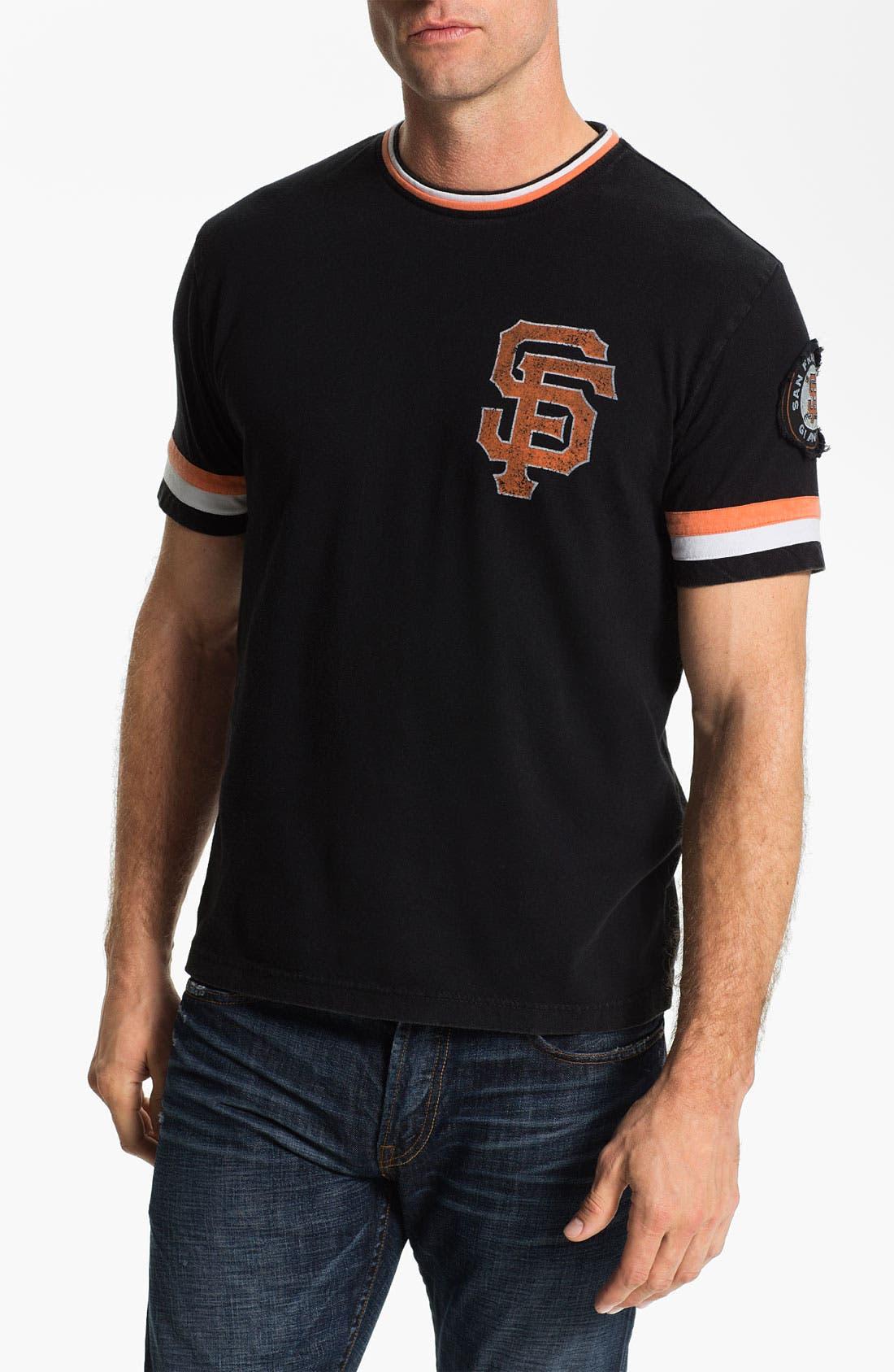 Main Image - Red Jacket 'San Francisco Giants' Trim Fit Ringer T-Shirt (Men)