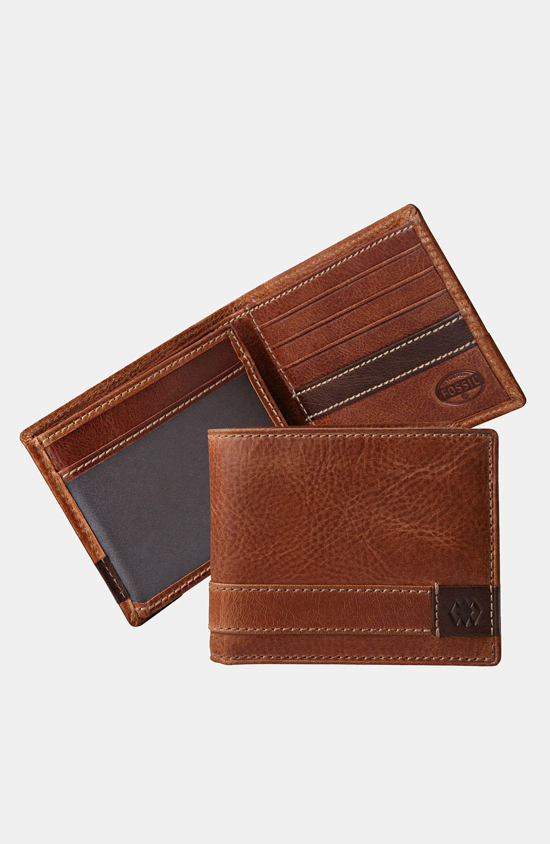 Main Image - Fossil 'Madison' Travel Wallet