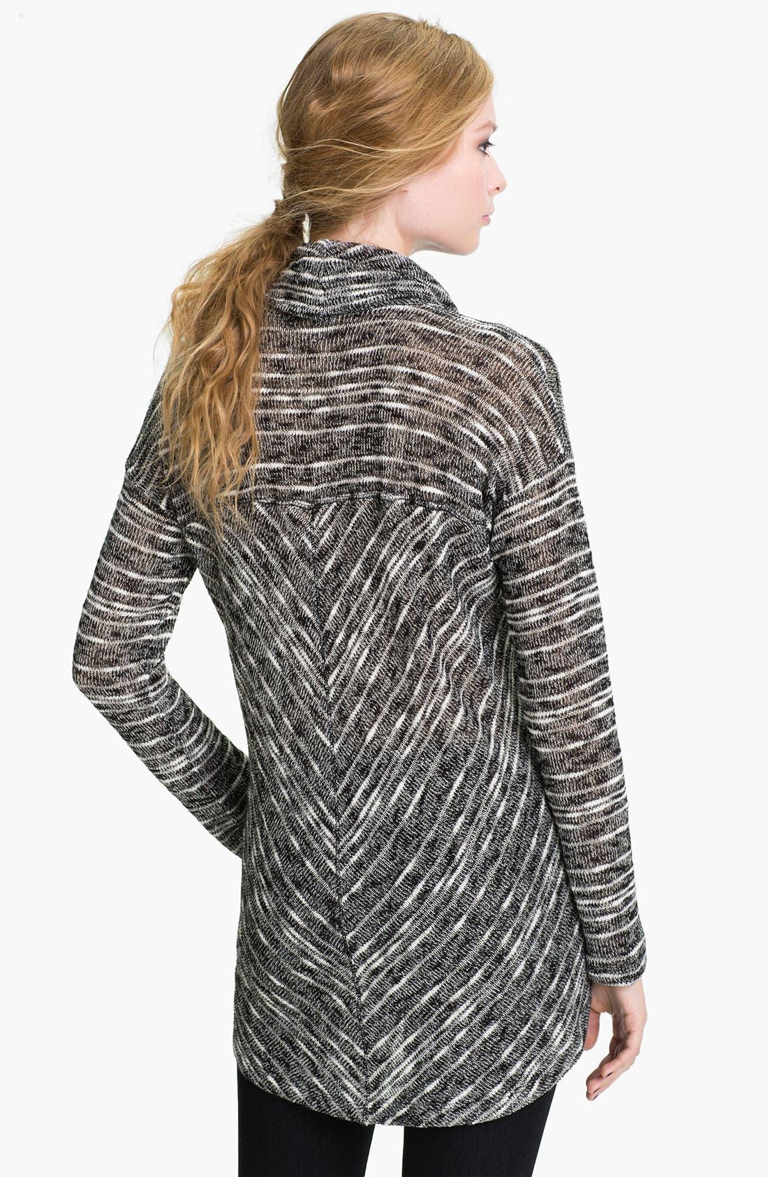 Alternate Image 2  - Splendid Stripe Cowl Neck Sweater