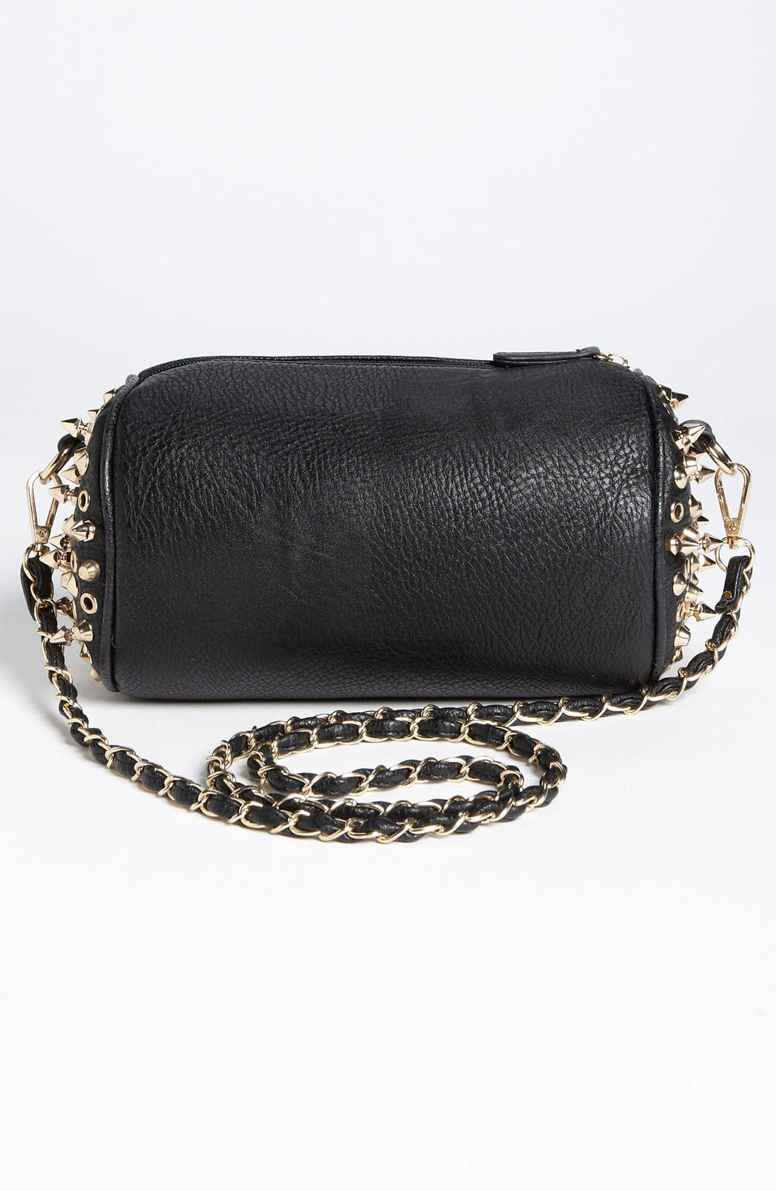 Main Image - Street Level Studded Barrel Bag