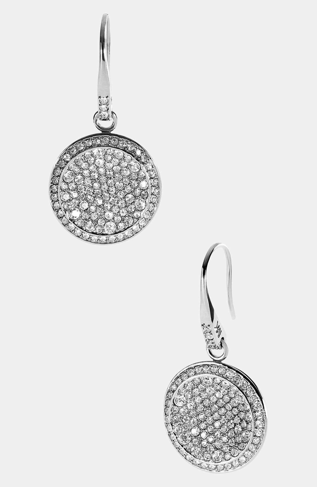 Alternate Image 1 Selected - Michael Kors 'Brilliance' Drop Earrings