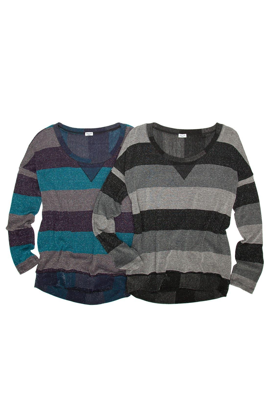 Alternate Image 5  - Splendid Metallic Stripe Top
