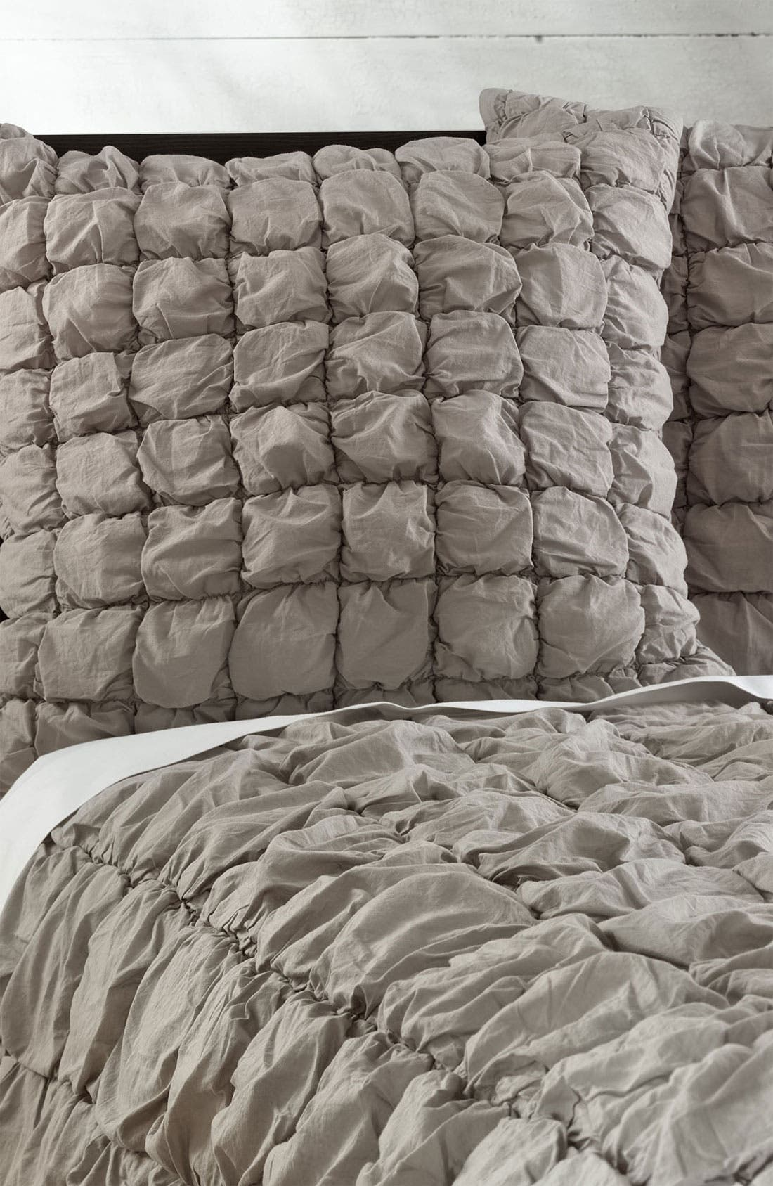 Alternate Image 1 Selected - Nordstrom at Home 'Ruched Squares' Euro Sham