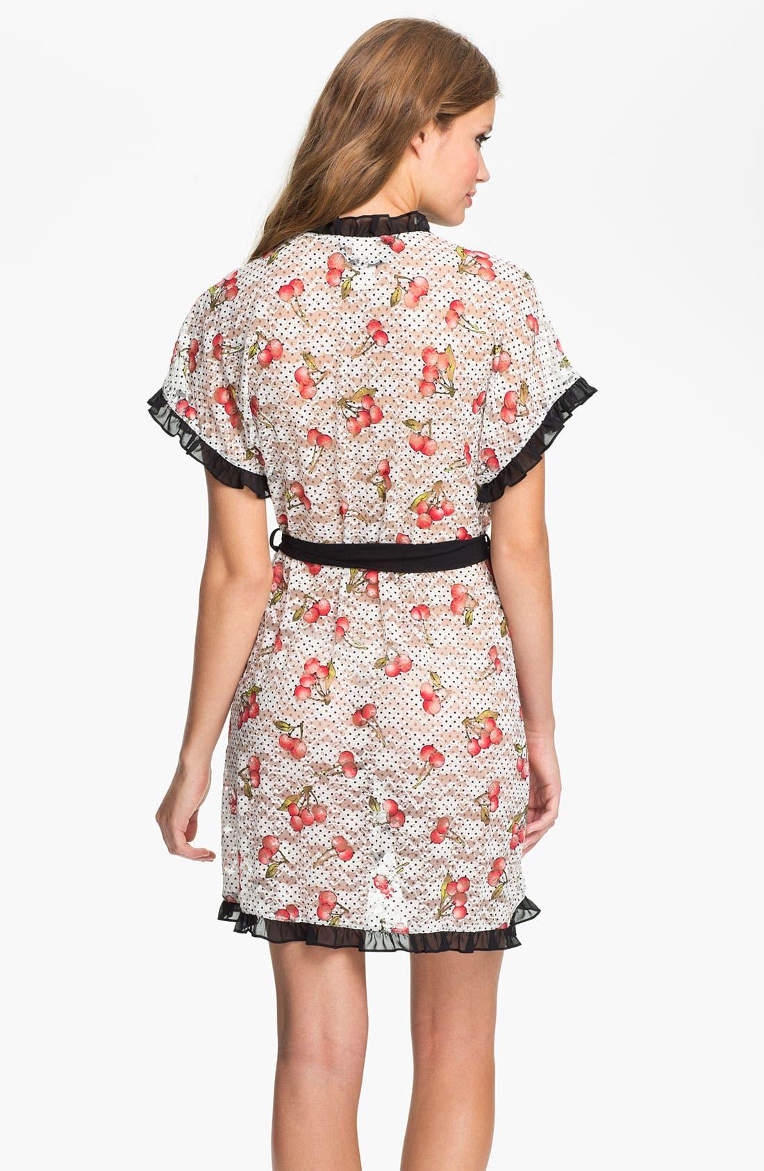 Alternate Image 2  - In Bloom by Jonquil 'Cherries' Robe