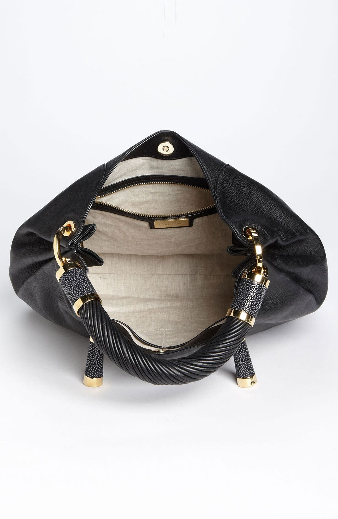 Alternate Image 3  - Michael Kors 'Tonne' Leather Hobo