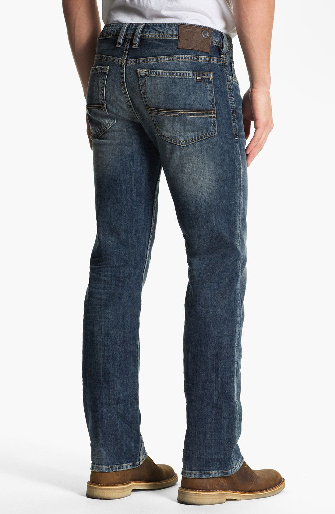 Alternate Image 2  - Buffalo Jeans 'Driven' Straight Leg Jeans (Vintage Worn)
